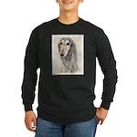 Saluki (Fawn) Long Sleeve Dark T-Shirt