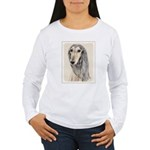 Saluki (Fawn) Women's Long Sleeve T-Shirt