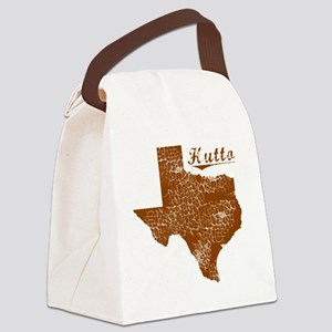 Hutto, Texas (Search Any City!) Canvas Lunch Bag