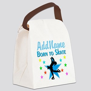 LIVE TO SKATE Canvas Lunch Bag