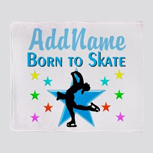 LIVE TO SKATE Throw Blanket