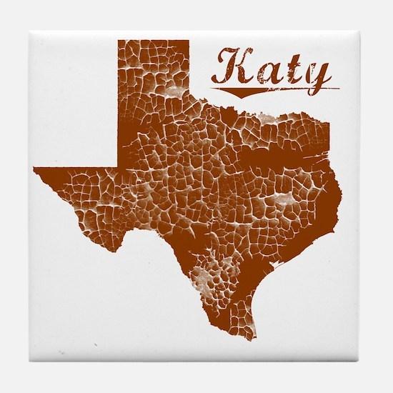 Katy, Texas (Search Any City!) Tile Coaster