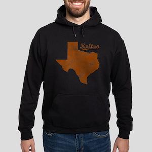 Kelton, Texas (Search Any City!) Hoodie (dark)
