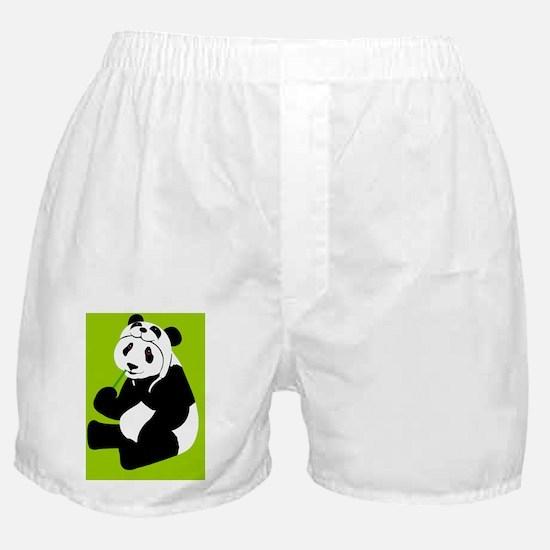 pandahat_jewel_G Boxer Shorts