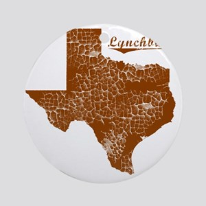 Lynchburg, Texas (Search Any City!) Round Ornament
