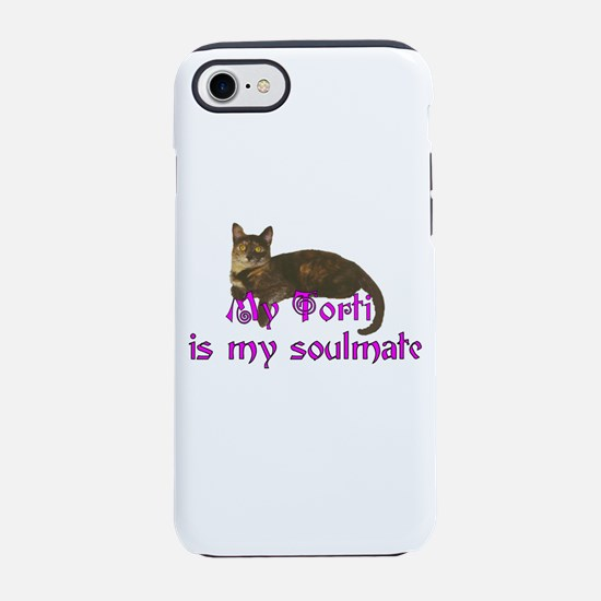 Tortie Love iPhone 7 Tough Case
