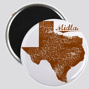Midland, Texas (Search Any City!) Magnet