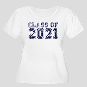 Class of 2021 Plus Size T-Shirt