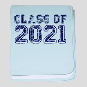 Class of 2021 baby blanket