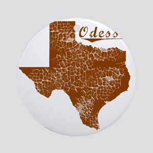 Odessa, Texas (Search Any City!) Round Ornament