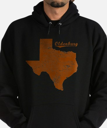 Oldenburg, Texas (Search Any City!) Hoodie (dark)