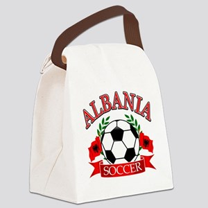 albania soccer designs Canvas Lunch Bag