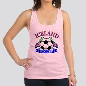 iceland complete  Racerback Tank Top