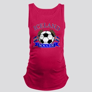iceland complete  Maternity Tank Top