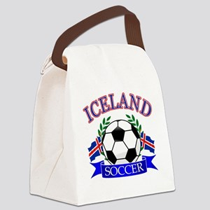 iceland complete  Canvas Lunch Bag