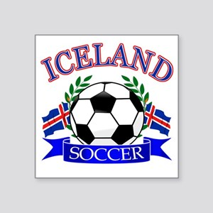 "iceland complete  Square Sticker 3"" x 3"""
