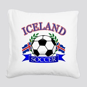 iceland complete  Square Canvas Pillow