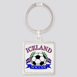 iceland complete  Square Keychain