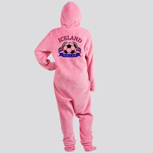iceland complete  Footed Pajamas