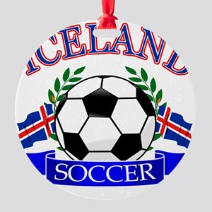 iceland complete  Round Ornament