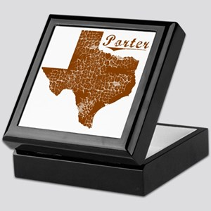 Porter, Texas (Search Any City!) Keepsake Box