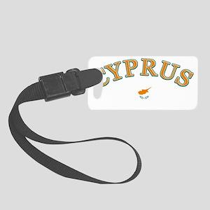 cyprus Small Luggage Tag