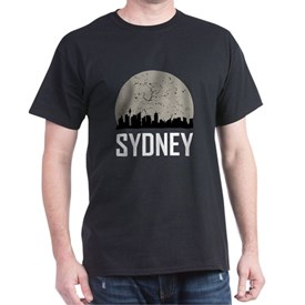 Sydney Full Moon Skyline T-Shirt