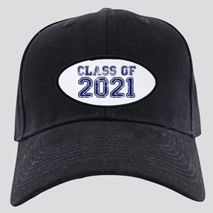 Class of 2021 Black Cap with Patch