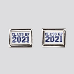 Class of 2021 Rectangular Cufflinks