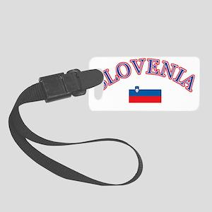 slovenia Small Luggage Tag