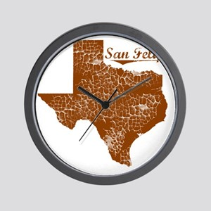 San Felipe, Texas (Search Any City!) Wall Clock