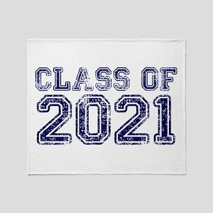 Class of 2021 Throw Blanket