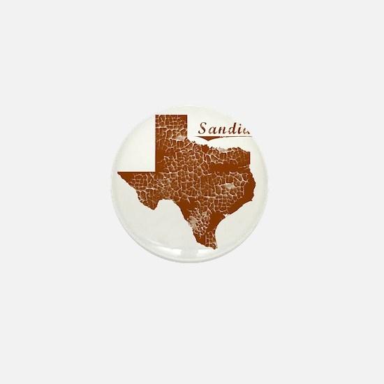 Sandia, Texas (Search Any City!) Mini Button