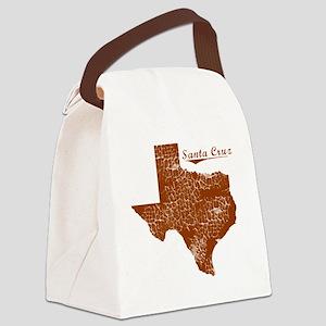 Santa Cruz, Texas (Search Any Cit Canvas Lunch Bag