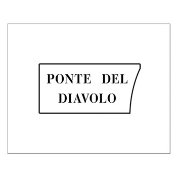 Ponte del Diavolo, Venice (IT) Small Poster
