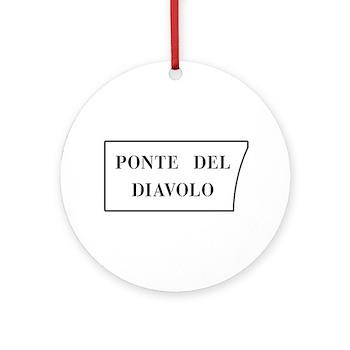 Ponte del Diavolo, Venice (IT) Ornament (Round)