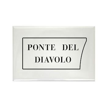 Ponte del Diavolo, Venice (IT) Rectangle Magnet (1