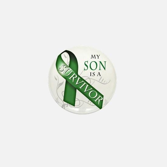 My Son is a Survivor (green) Mini Button