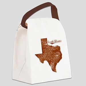 South Alamo, Texas (Search Any Ci Canvas Lunch Bag