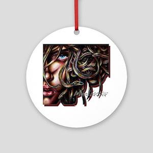Medusa No. Two Round Ornament