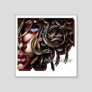 """Medusa No. Two Square Sticker 3"""" x 3"""""""