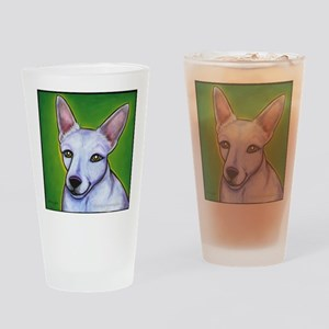 Jack Russell Terrier Madison Drinking Glass