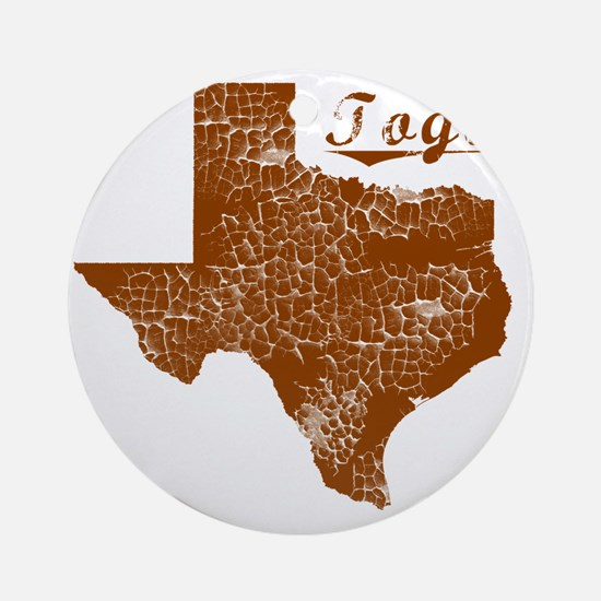 Togo, Texas (Search Any City!) Round Ornament