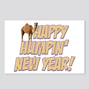 Happy Humpin New Year 2014 Hump Day Camel Postcard