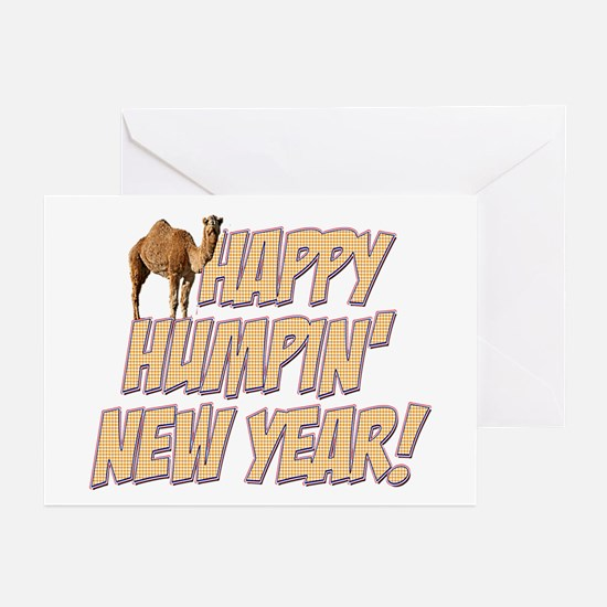 Happy Humpin New Year 2014 Hump Day Camel Greeting