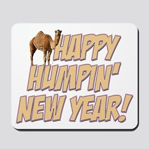 Happy Humpin New Year 2014 Hump Day Camel Mousepad