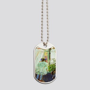 At the Window Dog Tags