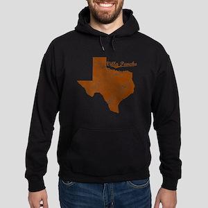 Villa Pancho, Texas (Search Any City Hoodie (dark)