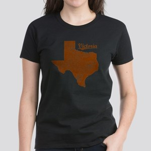 Victoria, Texas (Search Any C Women's Dark T-Shirt