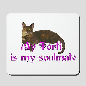 Tortie Love Mousepad